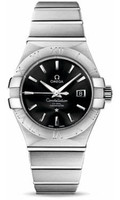 Omega Constellation Co-Axial 31 mm Brushed SS 123.10.31.20.01.001