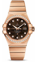 Omega Constellation Co-Axial 31 mm Brushed Red Gold 123.55.31.20.63.001