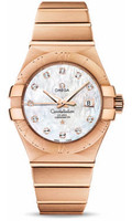 Omega Constellation Co-Axial 31 mm Brushed Red Gold 123.50.31.20.55.001