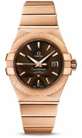 Omega Constellation Co-Axial 31 mm Brushed Red Gold 123.50.31.20.13.001