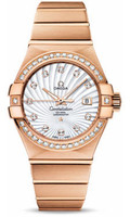 Omega Constellation Co-Axial 31 mm Brushed Red Gold 123.55.31.20.55.001