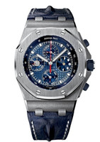 Audemars Piguet Royal Oak Offshore Perpetual Calendar Chronograph Platinum Watch 26209PT.OO.D305CR.01