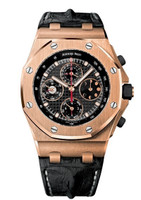 Audemars Piguet Royal Oak Offshore Perpetual Calendar Chronograph Pink Gold Watch 26209OR.OO.D101CR.01