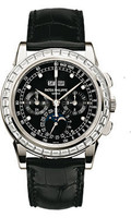 Patek Philippe Grand Complications Perpetual Calendar Moonphase Chronograph 5971P-001