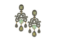 Opal & 2.30 ct Diamond Earring