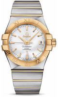 Omega Constellation Co-Axial 35 mm Brushed Steel & Yellow Gold 123.20.35.20.02.002