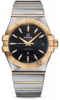Omega Constellation Co-Axial 35 mm Brushed Steel & Yellow Gold 123.20.35.20.01.002
