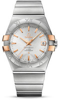 Omega Constellation Co-Axial 35 mm Brushed Steel & Red Gold Claws 123.20.35.20.02.003