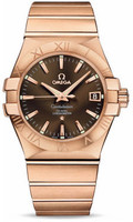 Omega Constellation Co-Axial 35 mm Brushed Red Gold 123.50.35.20.13.001