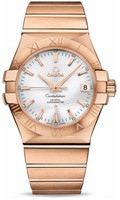 Omega Constellation Co-Axial 35 mm Brushed Red Gold 123.50.35.20.02.001