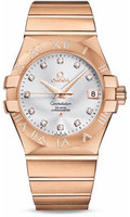 Omega Constellation Co-Axial 35 mm Brushed Red Gold 123.55.35.20.52.003