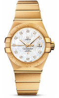 Omega Constellation Co-Axial 31 mm Brushed Yellow Gold 123.50.31.20.55.002