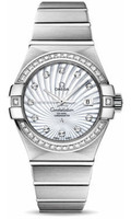 Omega Constellation Co-Axial 31 mm Brushed WG 123.55.31.20.55.003
