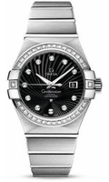 Omega Constellation Co-Axial 31 mm Brushed WG 123.55.31.20.51.001