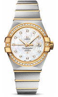 Omega Constellation Co-Axial 31 mm Brushed Steel & Yellow Gold 123.25.31.20.55.003