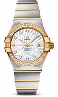Omega Constellation Co-Axial 31 mm Brushed Steel & Yellow Gold 123.25.31.20.55.002