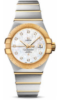 Omega Constellation Co-Axial 31 mm Brushed Steel & Yellow Gold 123.20.31.20.55.002