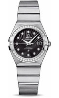 Omega Constellation Co-Axial 27 mm Brushed SS,123.15.27.20.51.001