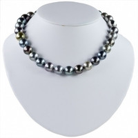 Imperial Multi-Color Tahitian Pearl Strand Necklace TPM105/18