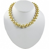 Imperial Golden South Sea Pearl Strand Necklace 1215GSSAB