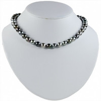 "Imperial 18"" Multi-Color Tahitian Pearl Strand Necklace TPM226/18"