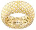 Gucci Diamantissima Light Ring  SMALTO BIANCO Size 55 (YBC2847220010)