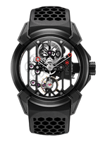 Jacob & Co Epic X Titanium with Black PVD Manual Men's Skeleton Watch 550.100.21.NS.PY.4NS