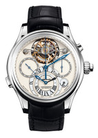 Montblanc Collection Villeret 1858 ExoTourbillon Rattrapante Watch 111823