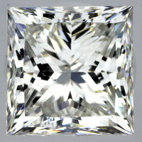 1.5 Carat G/IF GIA Certified Princess Diamond