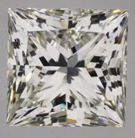 3 Carat G/VS2 GIA Certified Princess Diamond