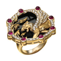 Magerit Babylon Collection Ring SO1645.1