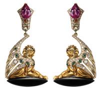 Magerit Babilon Collection Earrings AR1684.1