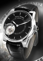 Pierre Thomas Geneve Pierre Thomas Special Edition Tourbillon Xxl Historical Mechanical Movement Black Dial Men's Watch