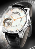 Pierre Thomas Special Edition Tourbillon XXL Historical Mechanical Movement White Dial Men's Watch