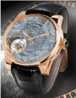 Pierre Thomas Geneve Special Edition Tourbillon XXL Historical Mechanical Movement Meteorite Dial Men's Watch