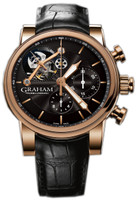 Graham Silverstone Tourbillograph Woodcote Gold Limited Edition