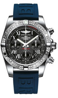 Breitling Chronomat 41 Steel Dia Bezel Diver Pro III Strap Deployant AB0140AA/BC04