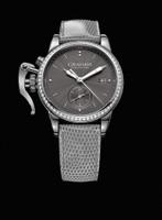Graham London Chronofighter 1695 Romantic Grey Diamonds Steel Watch 2CXNS.A01A