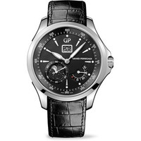 Girard-Perregaux Traveller Moon Phase & Large Date Steel Watch 49650-11-631-BB6A