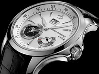 Girard-Perregaux Traveller Moon Phase & Large Date Steel Watch 49650-11-131-BB6A