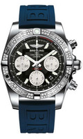 Breitling Chronomat 41 Steel Dia Bezel Diver Pro III Strap Tang AB0140AA/BA52