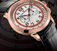 Girard-Perregaux 1966 Chronograph Doctor's Watch Dubail Pink Gold Watch 49539-52-1214SBK6