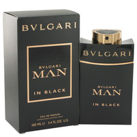 Bvlgari Man In Black by Bvlgari Parfum Spray 3.4 oz