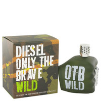 Only The Brave Wild by Diesel Toilette  Spray 4.2 oz