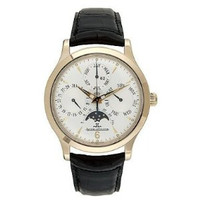 Jaeger LeCoultre Master Perpetual (RG/Silver/Leather) 149242