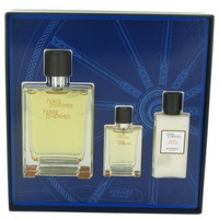 Gift Set -- 3.3 oz Toilette  Spray + .42 oz Mini EDT Spray + 1.35 oz After Shave Balm