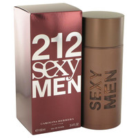 212 Sexy by Carolina Herrera Toilette  Spray 3.3 oz