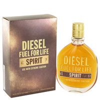 Fuel For Life Spirit by Diesel Toilette  Spray 2.5 oz