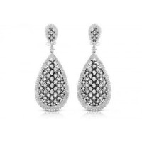6.12ct Diamond & WG Earrings