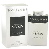 Bvlgari Man Extreme by Bvlgari Toilette  Spray 3.4 oz